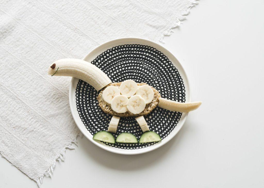 dinosaurusleipä banaanista