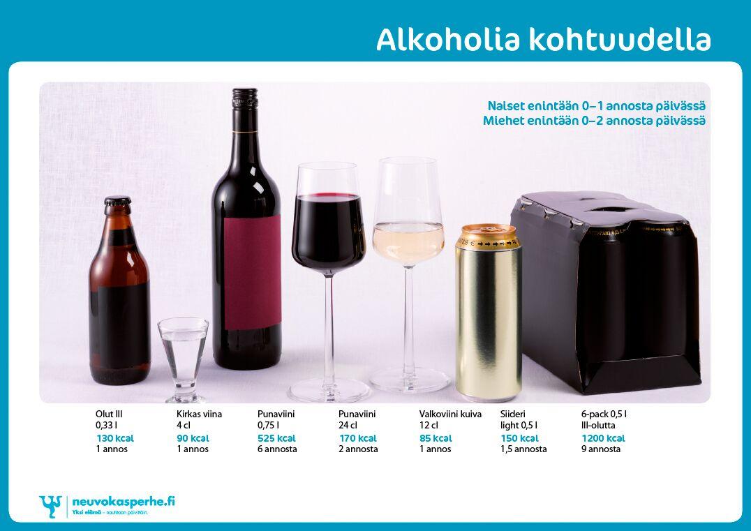 Alkoholi Suositukset